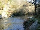 Río Eo. Couto de Piago Maior coa súa ponte colgante.